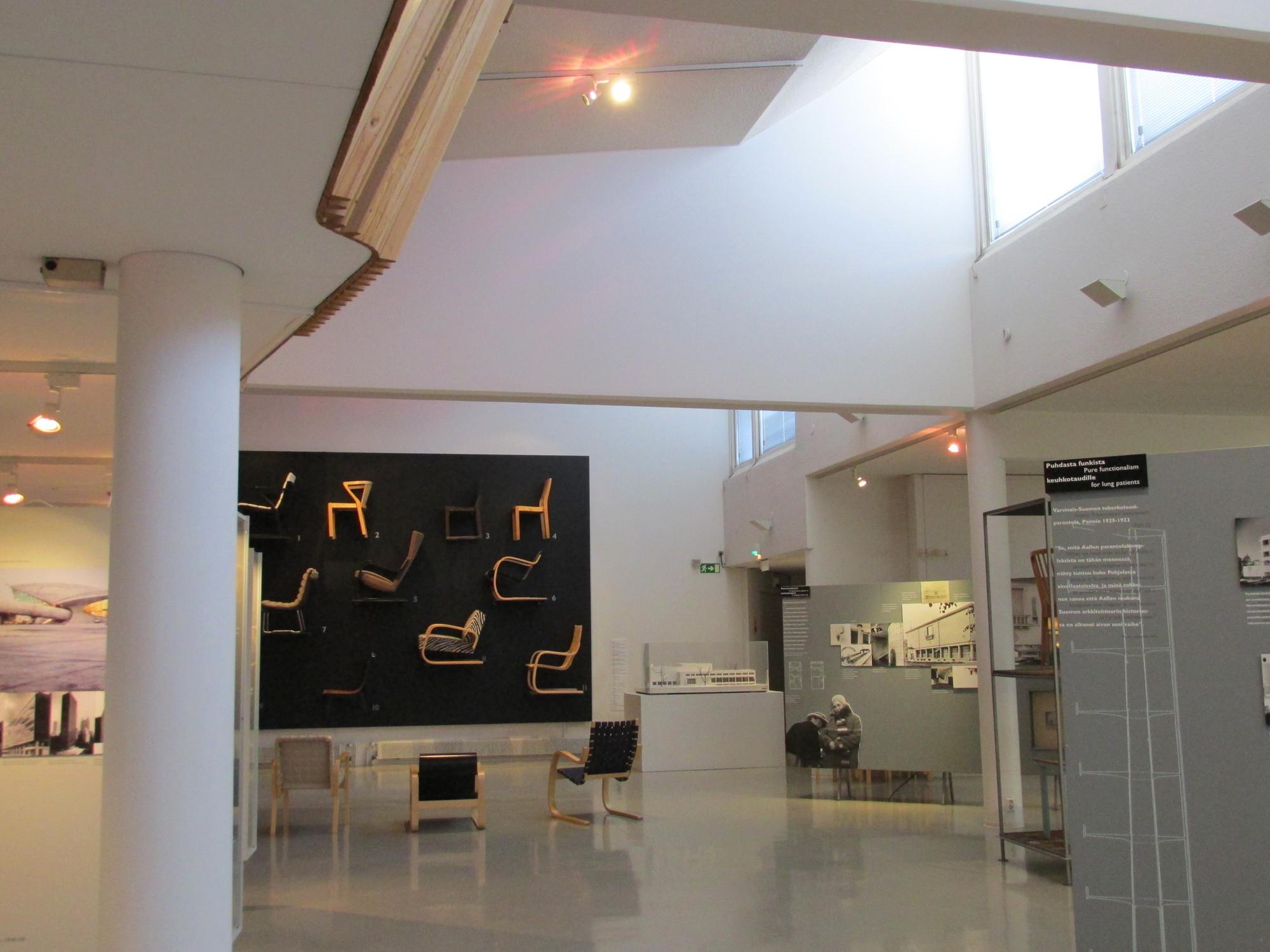 Museo de Alvar Aalto. Image © Karina Nogales