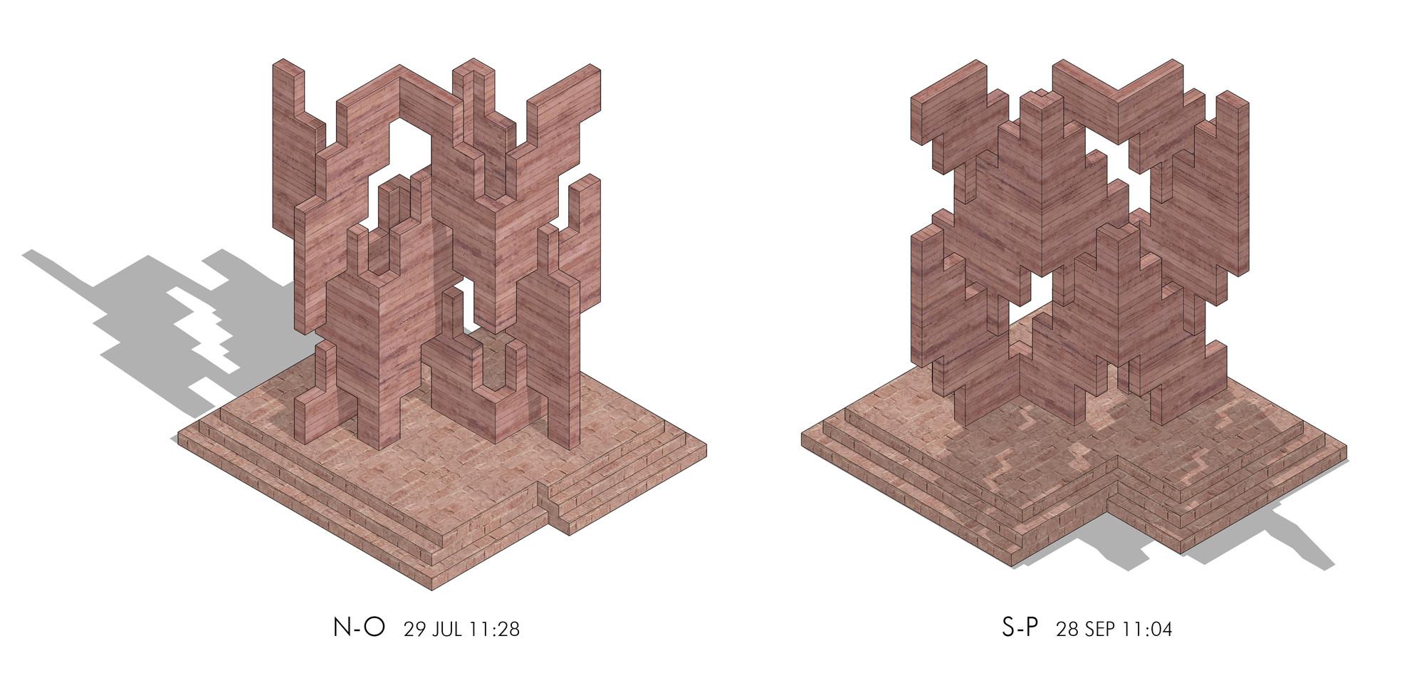 Isométricas. Image Courtesy of Edison Suau