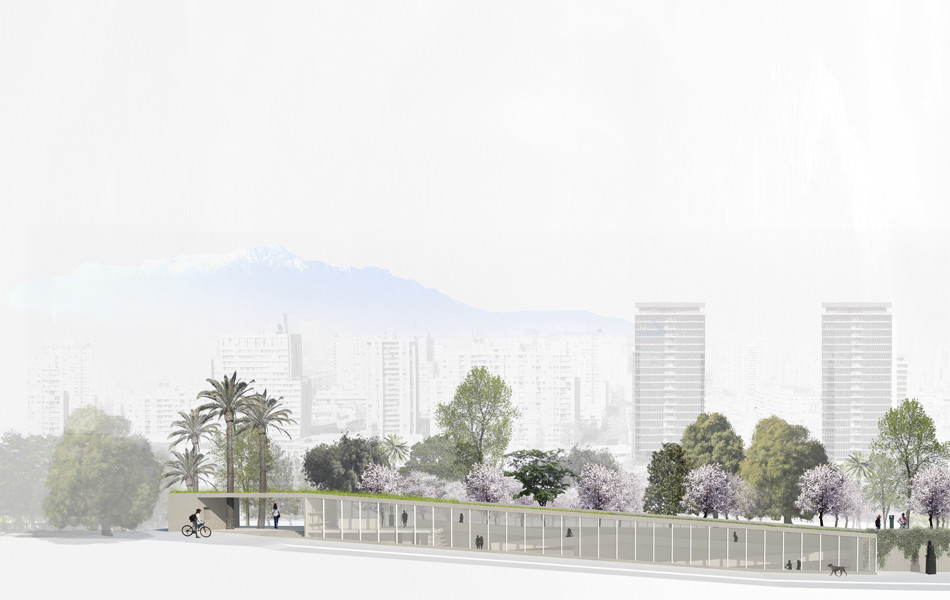 Pabellón. Image Courtesy of Jadue-Livingstone