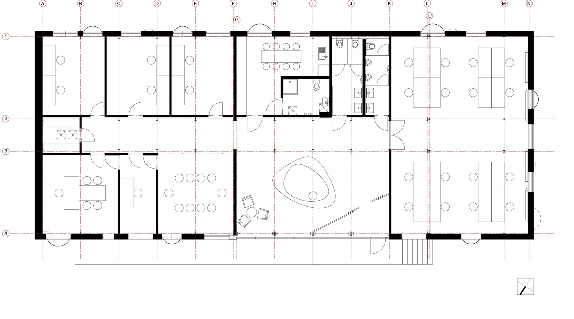 Fine Dining Restaurant Kitchen Layout Restaurant Floor Plan Layout With Kitchen Layout Included