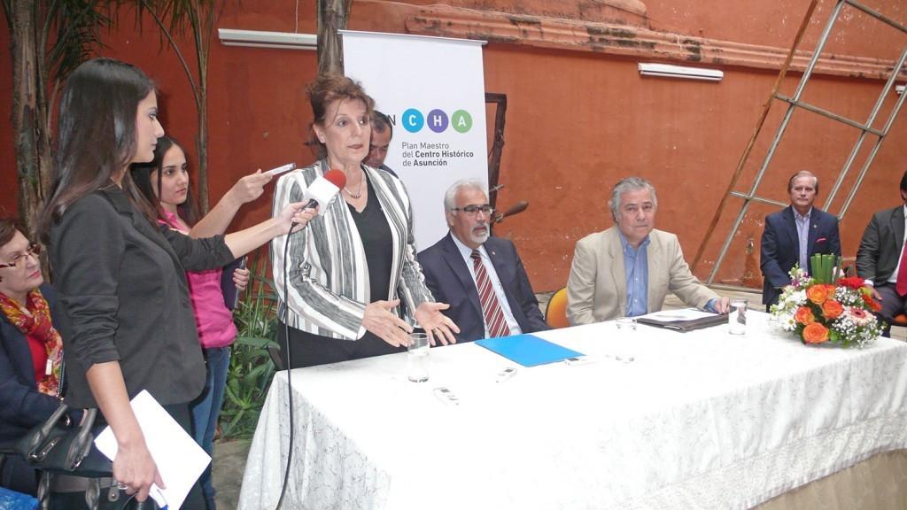 Ceremonia oficial del anuncio de ganadores del Plan CHA. Image © Alianza para la revitalización del Centro Histórico de