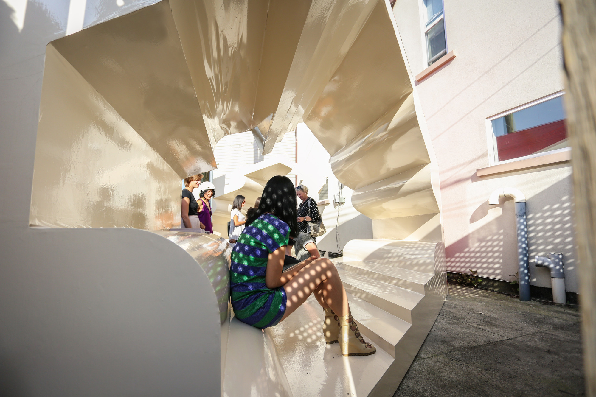 Jiminez Lai and Bureau Spectacular Present: Flipping Properties, © Kevin Pazik