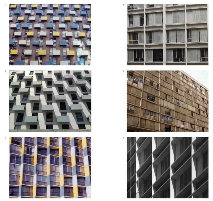 (A) Edificios de Jaime y Osvaldo Larraín