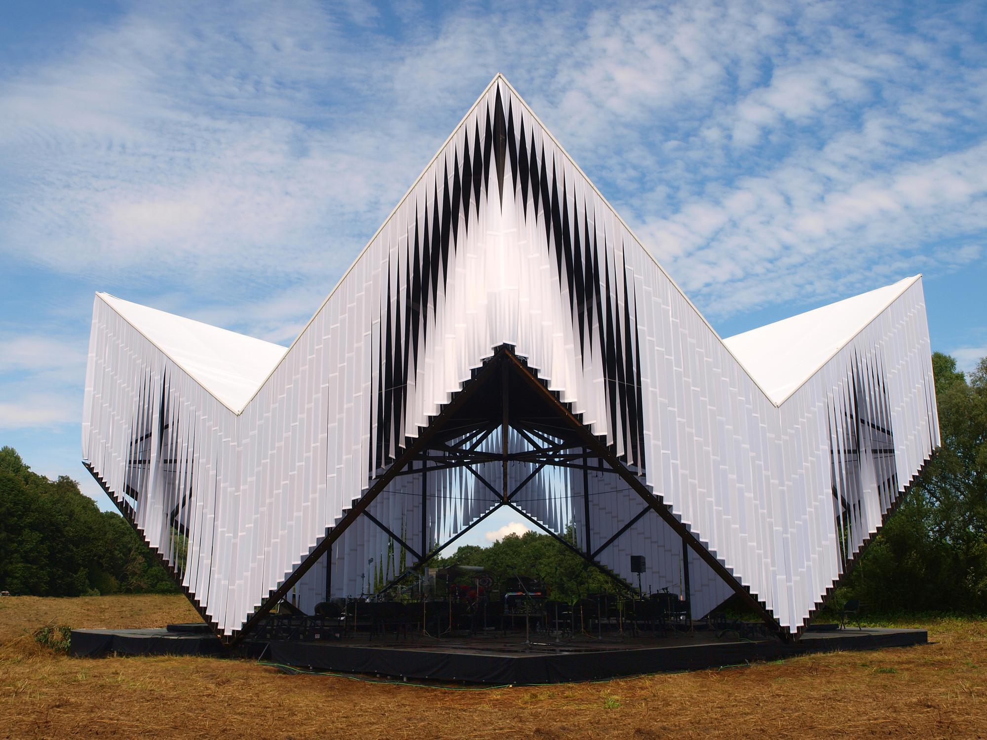 Pavilion and Workshops for Nature Concert Hall / DJA, © Ernests Sveisbergs