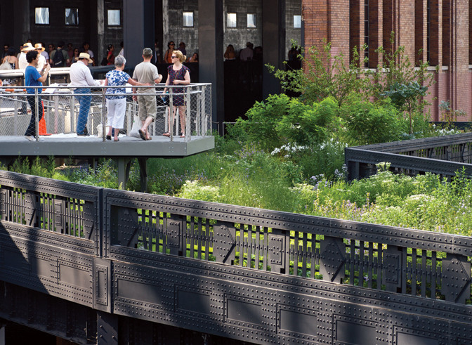 The High Line in New York is one of this century's biggest renovation success stories. Image © Russel Fernandez/ Princeton Architectural Press