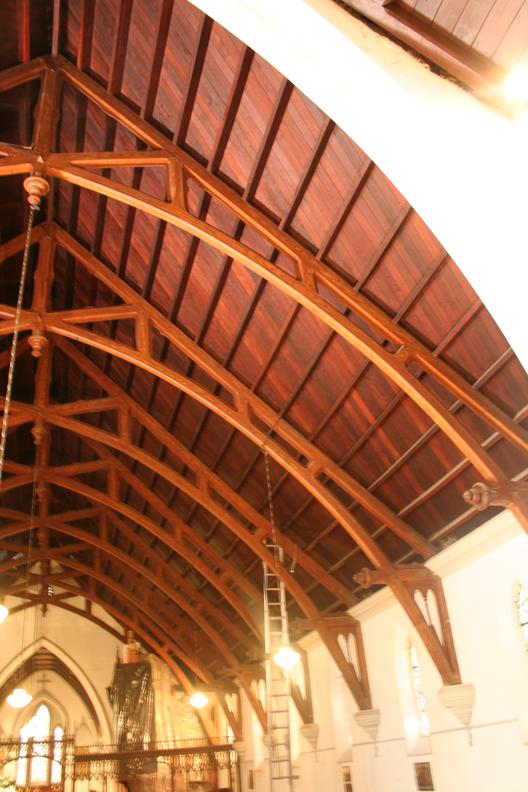 Iglesia Anglicana de Valparaíso restaurada por Rodrigo Lorca. Image © Semana de la Madera
