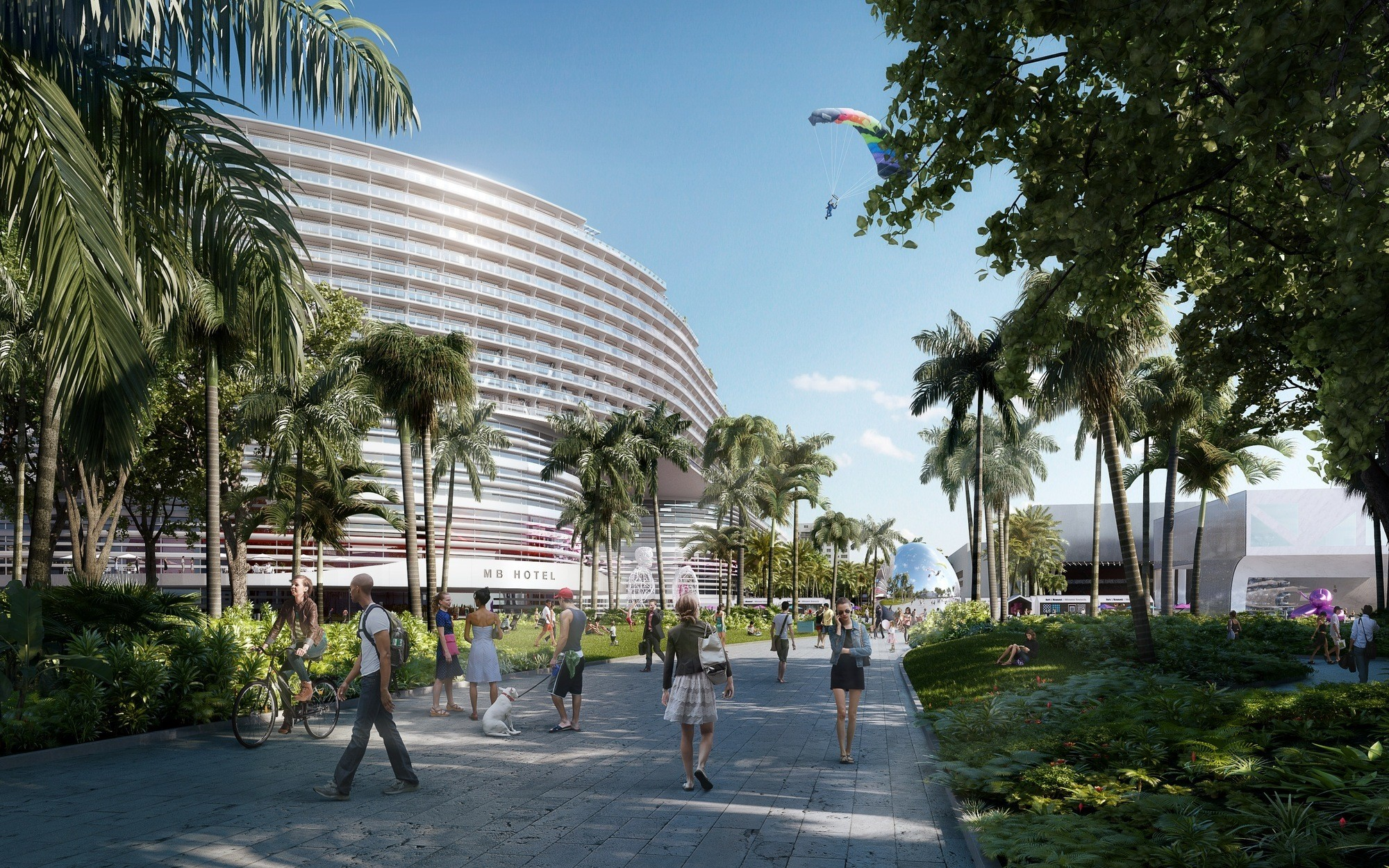 arquitectonica takes over miami beach convention center