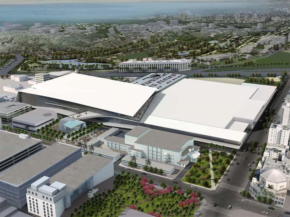 Arquitectonica takes over miami beach convention center - Home design miami beach convention center ...