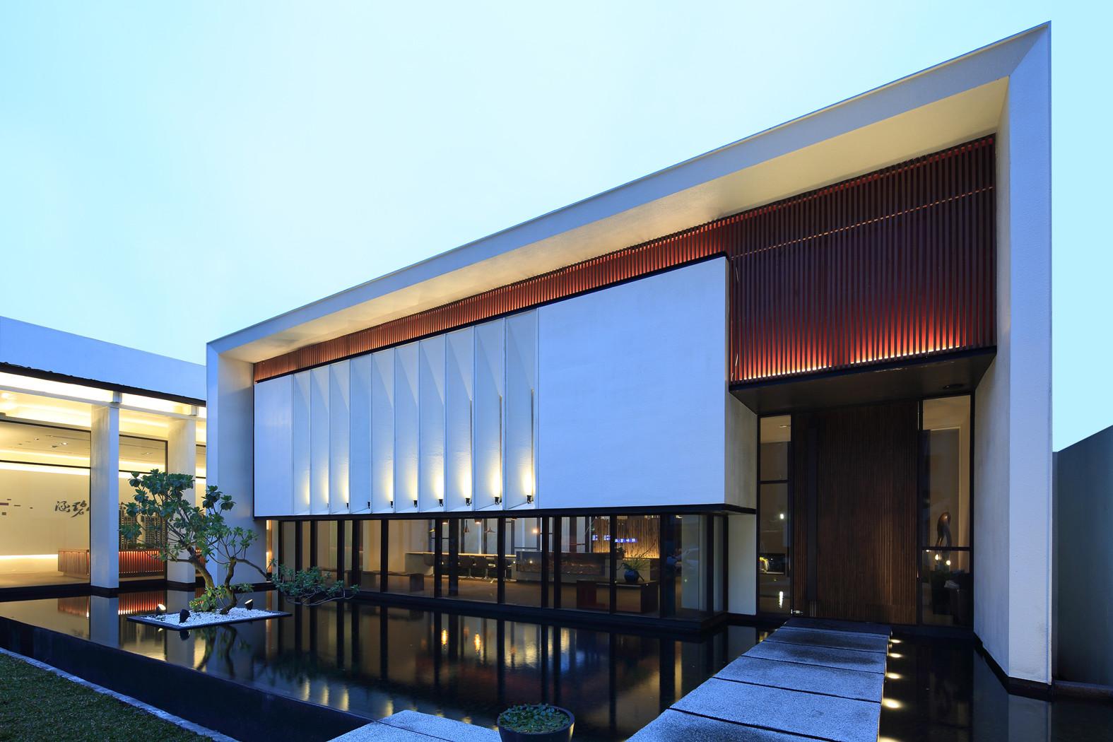 Gallery of exquisite minimalist arcadian architecture for Minimalist architecture design house