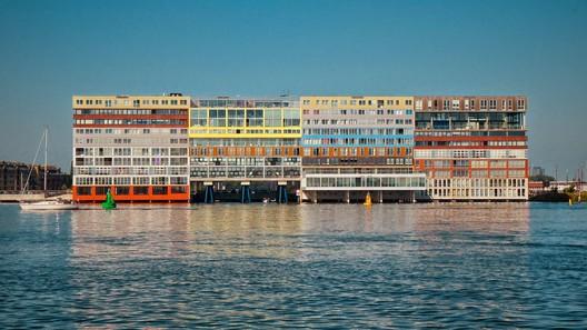 MVRDV's Silodam in Amsterdam. Image © Flickr CC User pnwbot
