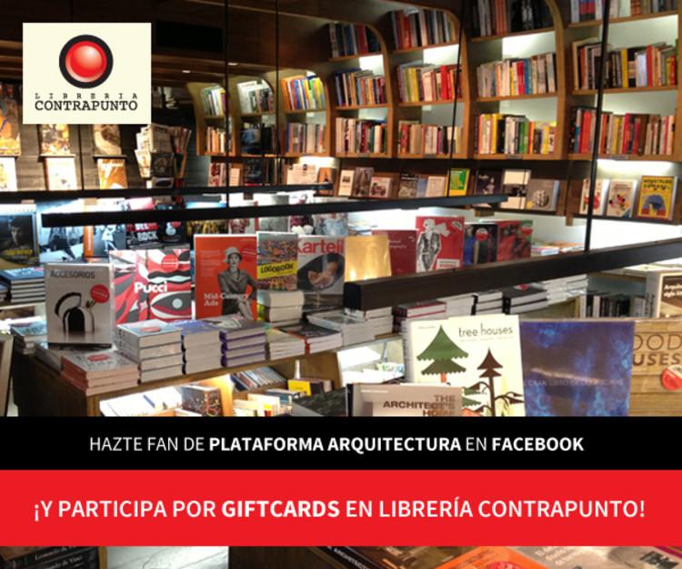 Sorteo Mes del Arquitecto 2014: Gana giftcards en Librería Contrapunto [¡sorteo cerrado!]