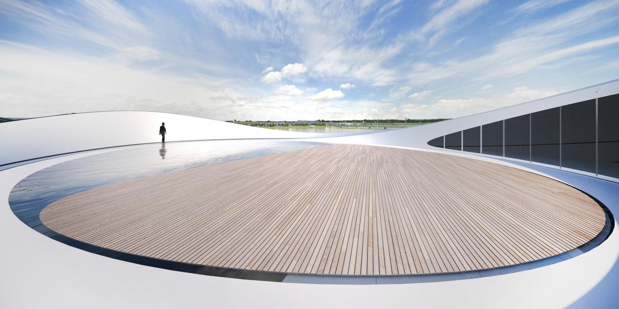 © Cortesía de Asymptote Architecture