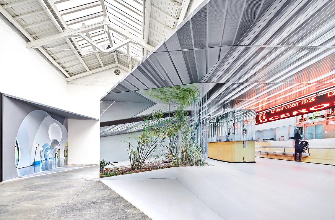 """Día Mundial de la Fotografía: José Hevia por Ábalos + Sentkiewicz Arquitectos, """"INTERIOR"""" Pabellón de España Bienal de Venecia 2014. Image © José Hevia"""