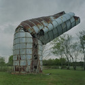A Moving Question: The Beauty of a Broken Silo. Image © Tim Hursley