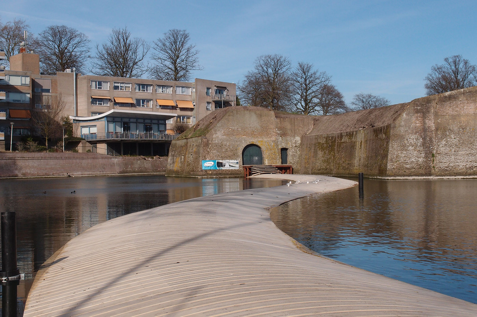 Gallery of dutch floating bridge ro ad architecten 6 for Ad architects
