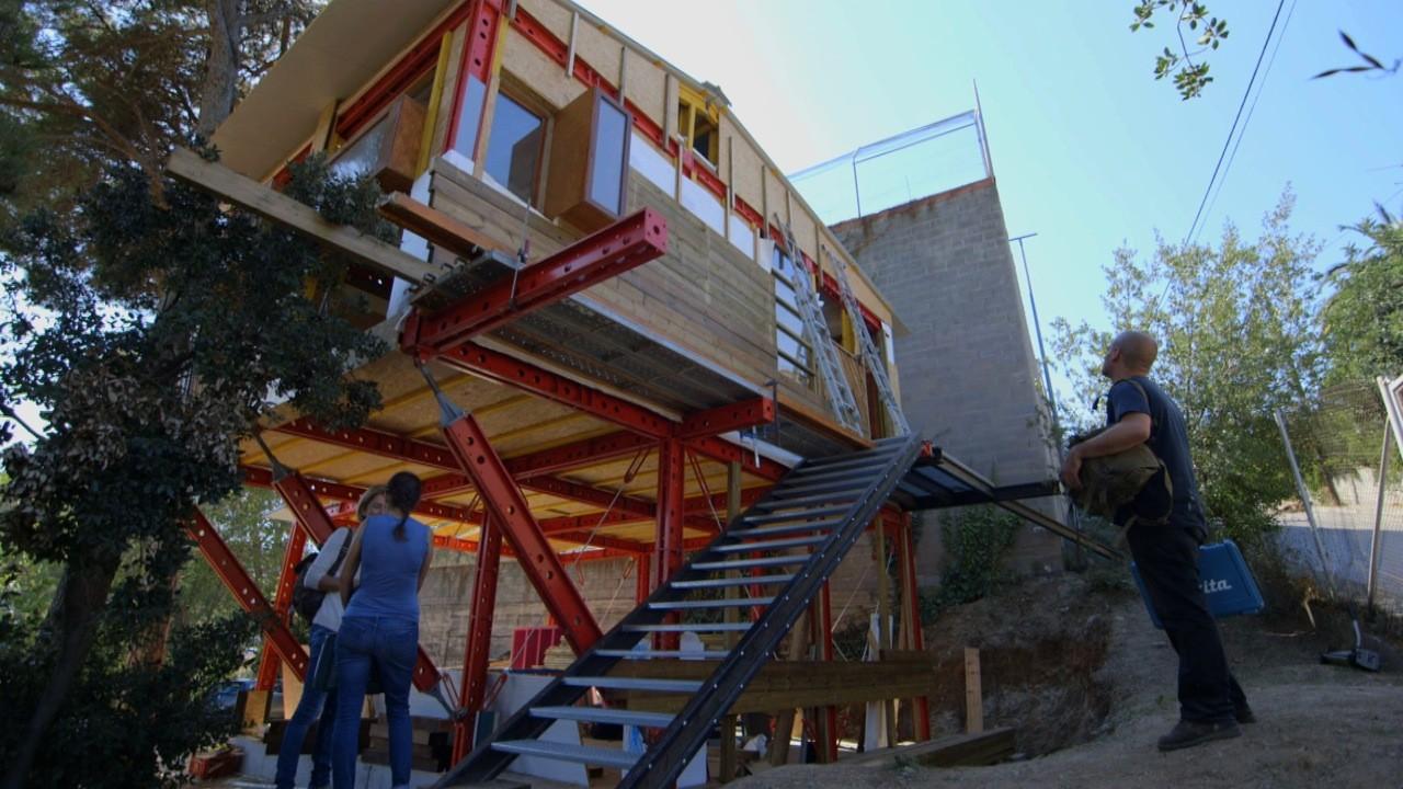 """La serie """"Arquitectura Rebelde"""" de Al Jazeera estrena capítulo sobre Santiago Cirugeda, Cortesía de Al Jazeera"""