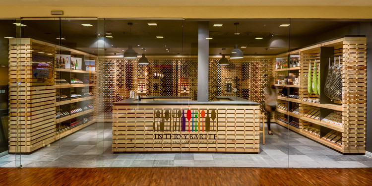 Tienda Gourmet Intersybarite / Arquitectura Sistémica, © Rafael Gamo