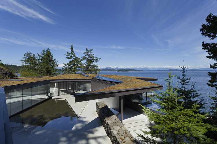 Casa Tula / Patkau Architects, © James Dow