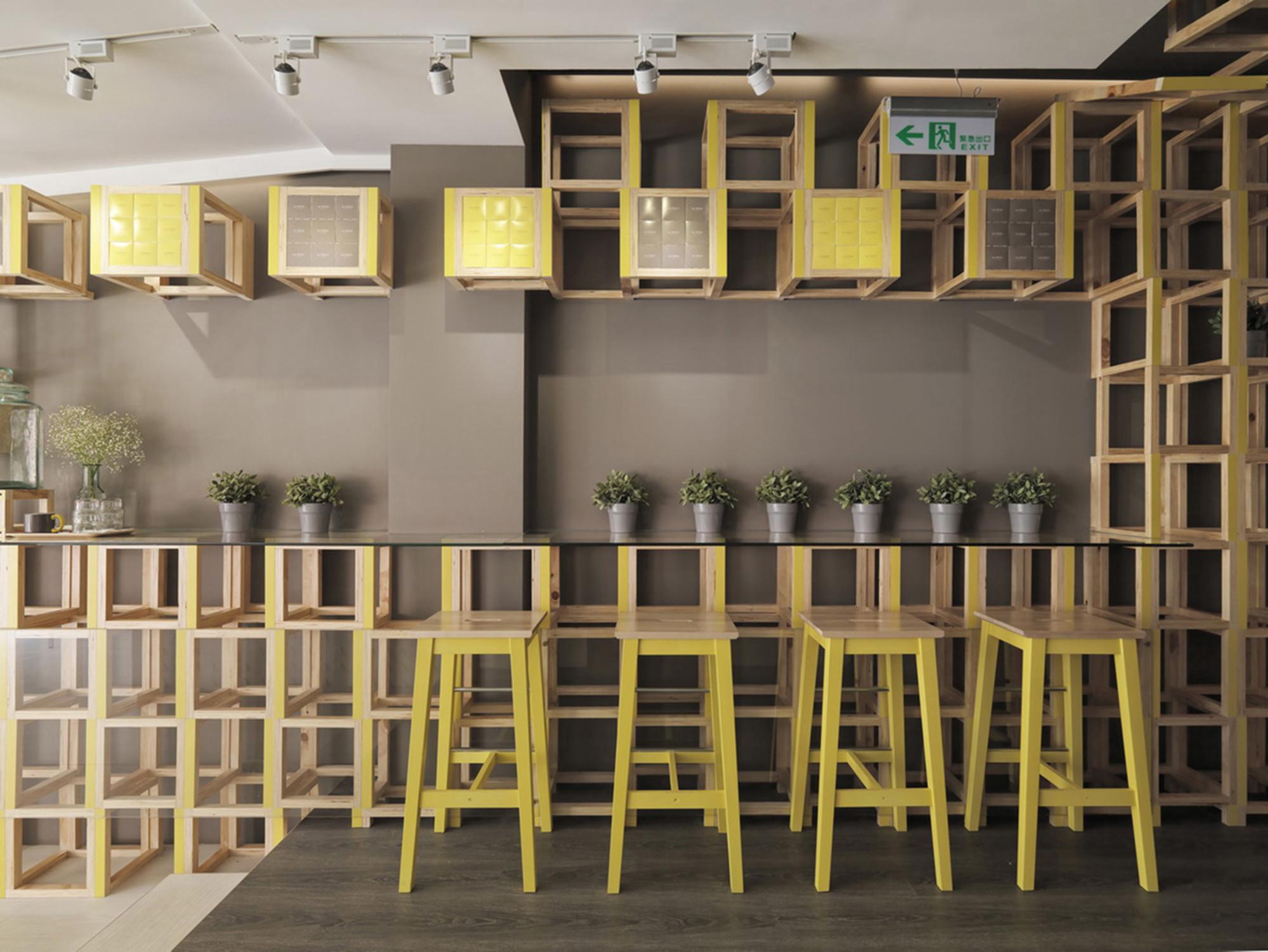 Les Bébés Cafe & Bar / JC Architecture, © Kyle You