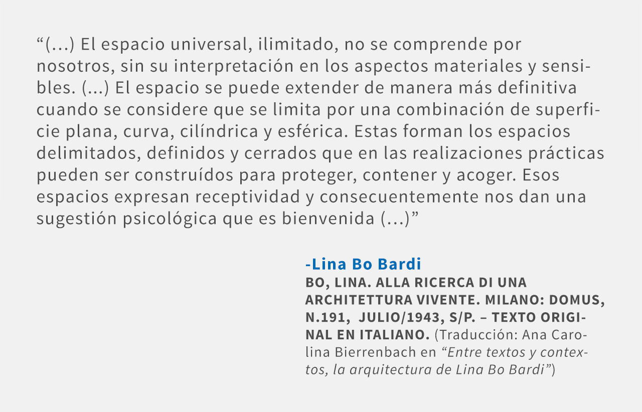 Frases: Lina Bo Bardi