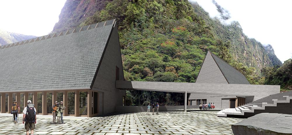 Primer Lugar en concurso de ideas para futuras intervenciones en Machu Picchu / Perú, Courtesy of Michelle Llona R.