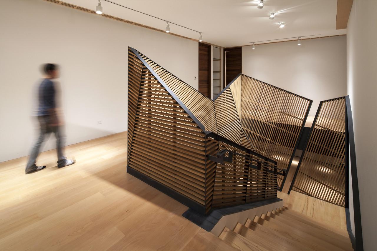 Barandillas Modernas Para Escaleras Excellent Malla De Alambre De