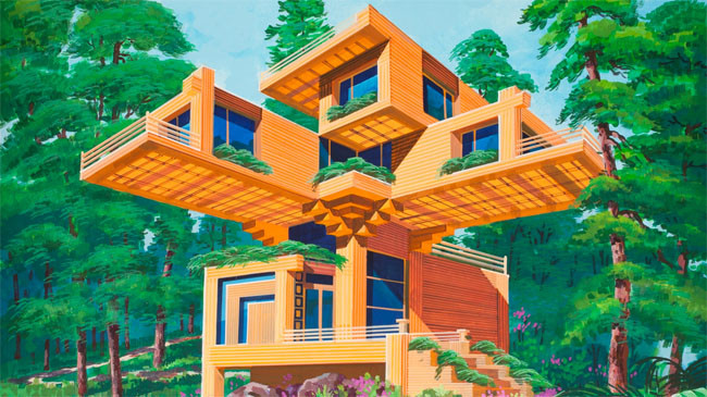Villa Nido de Pájaro. Imagen cortesía de Koryo Tours
