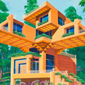 The Bird's Nest Villa. Image Courtesy of Koryo Tours