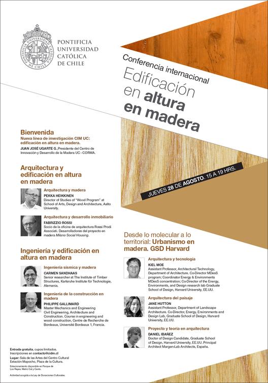 Conferencia Internacional: Edificación en Altura en Madera