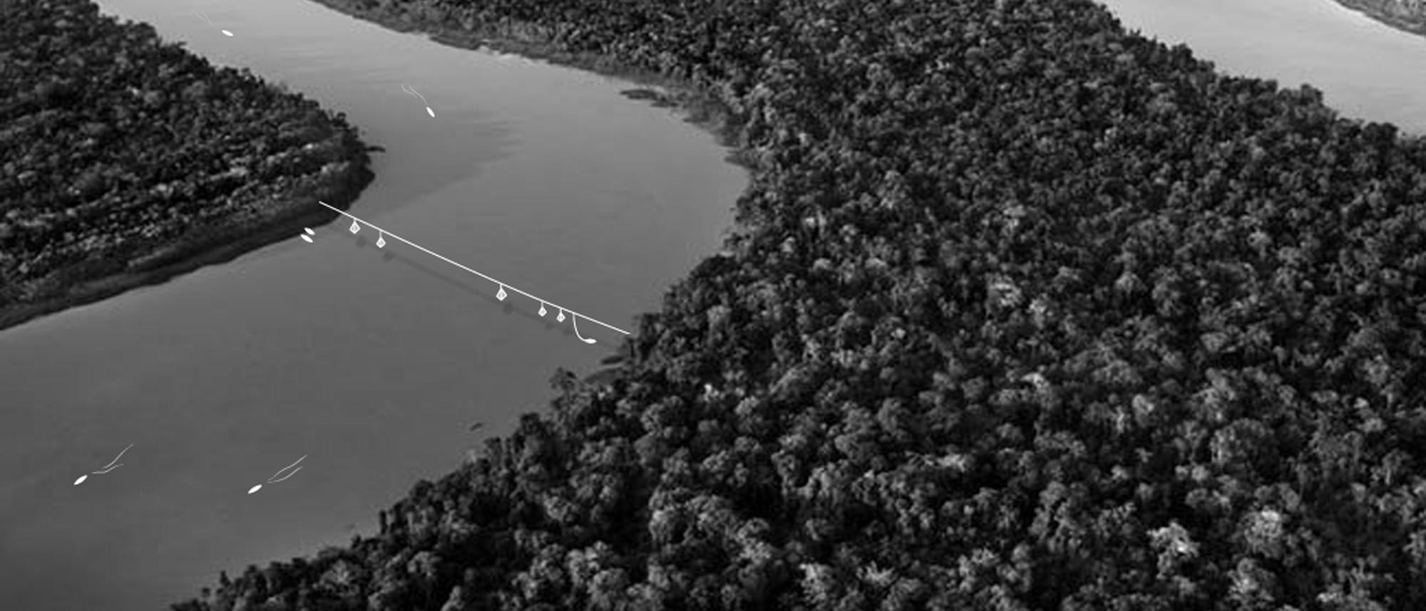 Meandro. Image Cortesia de Equipo Primer Lugar