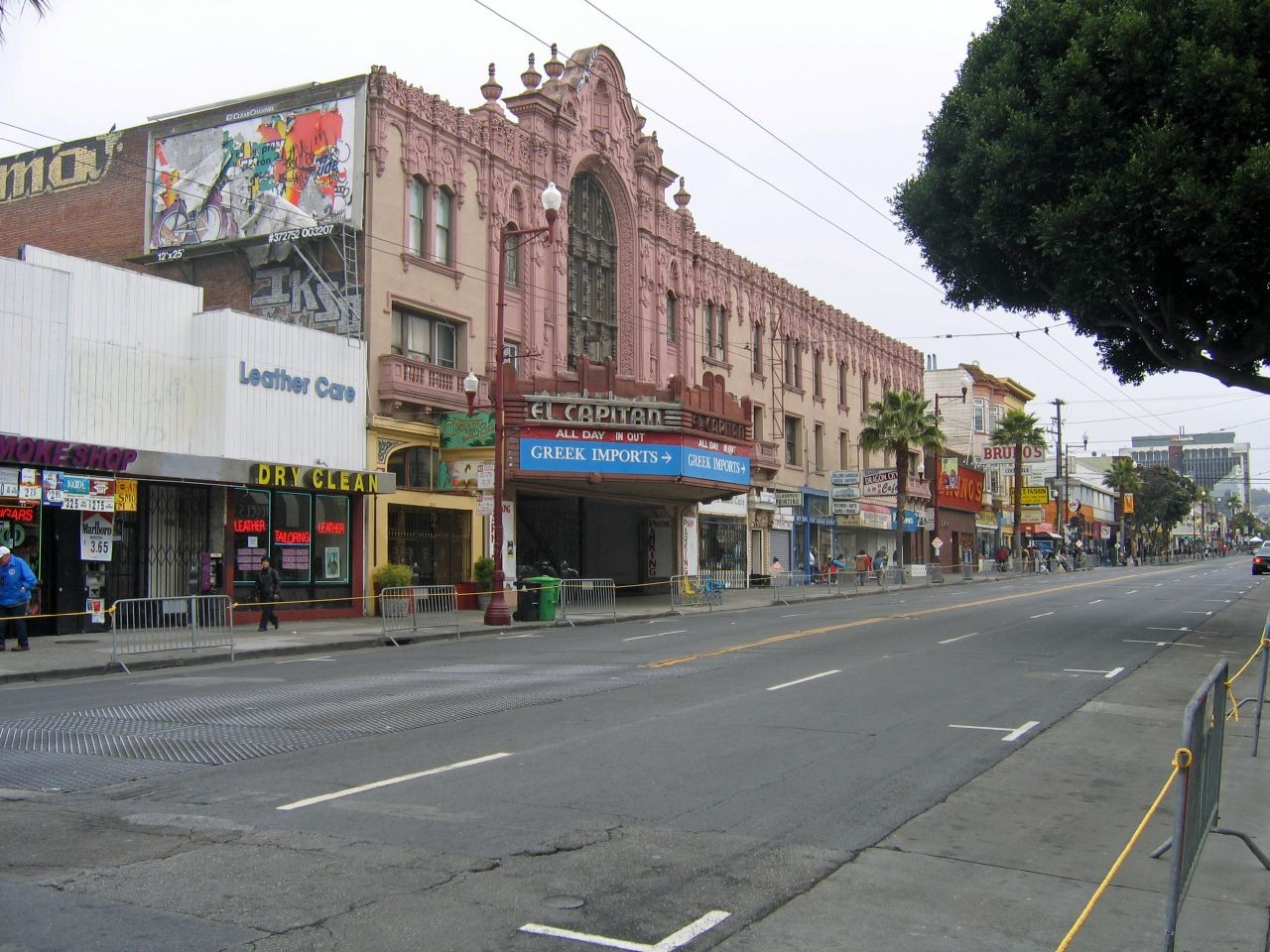 San Francisco's Mission Street. Photo via Wikimedia Commons user Urban