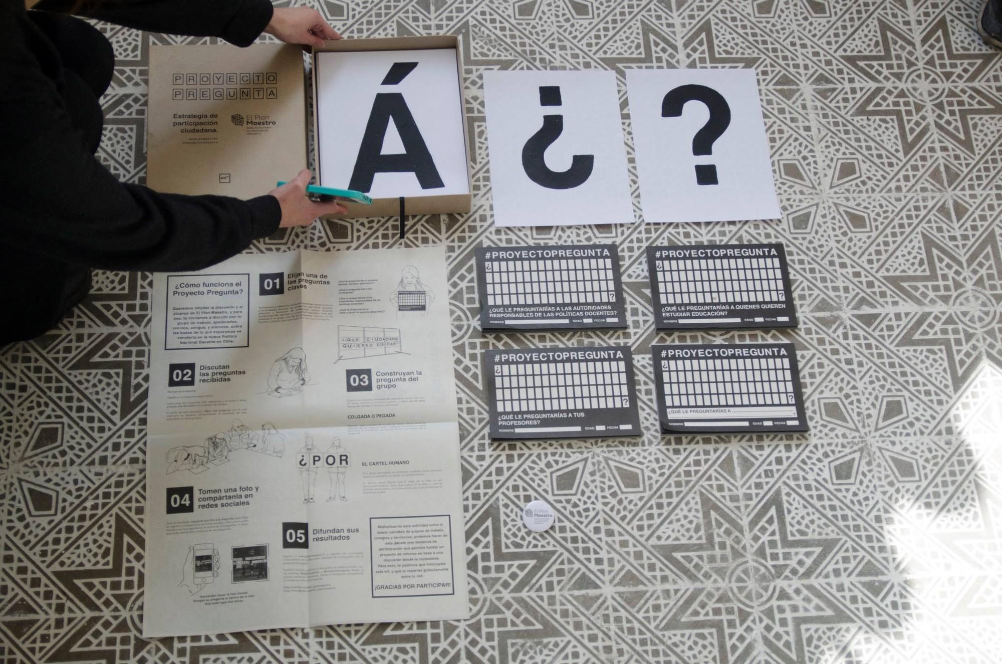 Proyecto Pregunta para Elige Educar. Image Cortesia de Mil M2