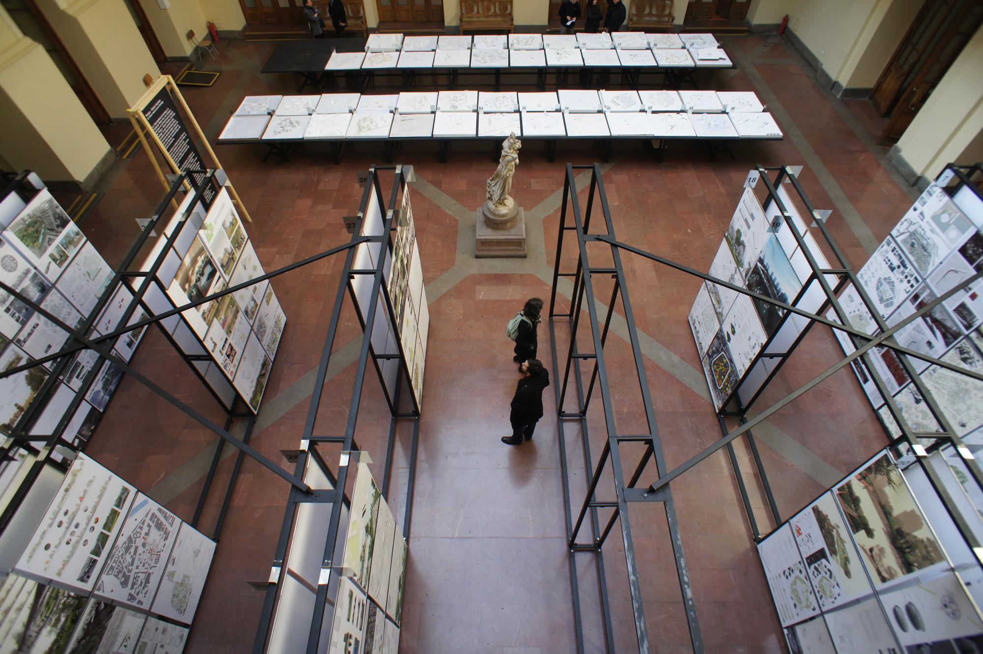 Montaje Concurso de Parque Museo Humano. Image Cortesia de Mil M2