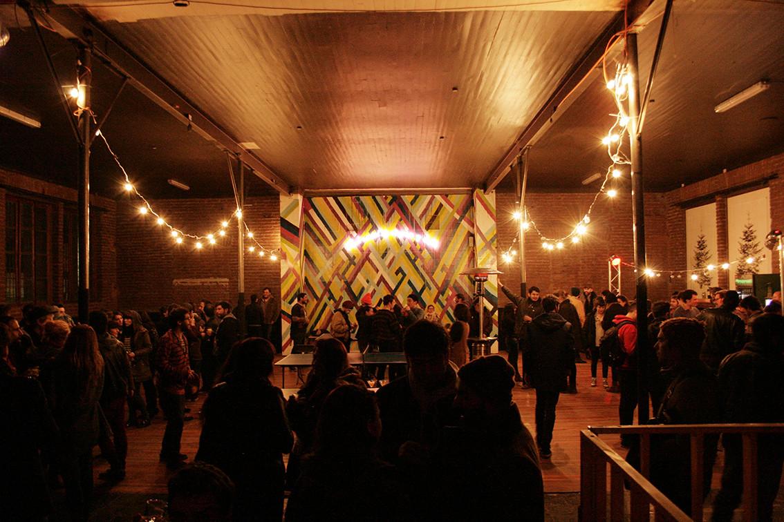Club Social de Música y Baile La Roma. Sector de Ping Pong. Image Cortesia de Mil M2