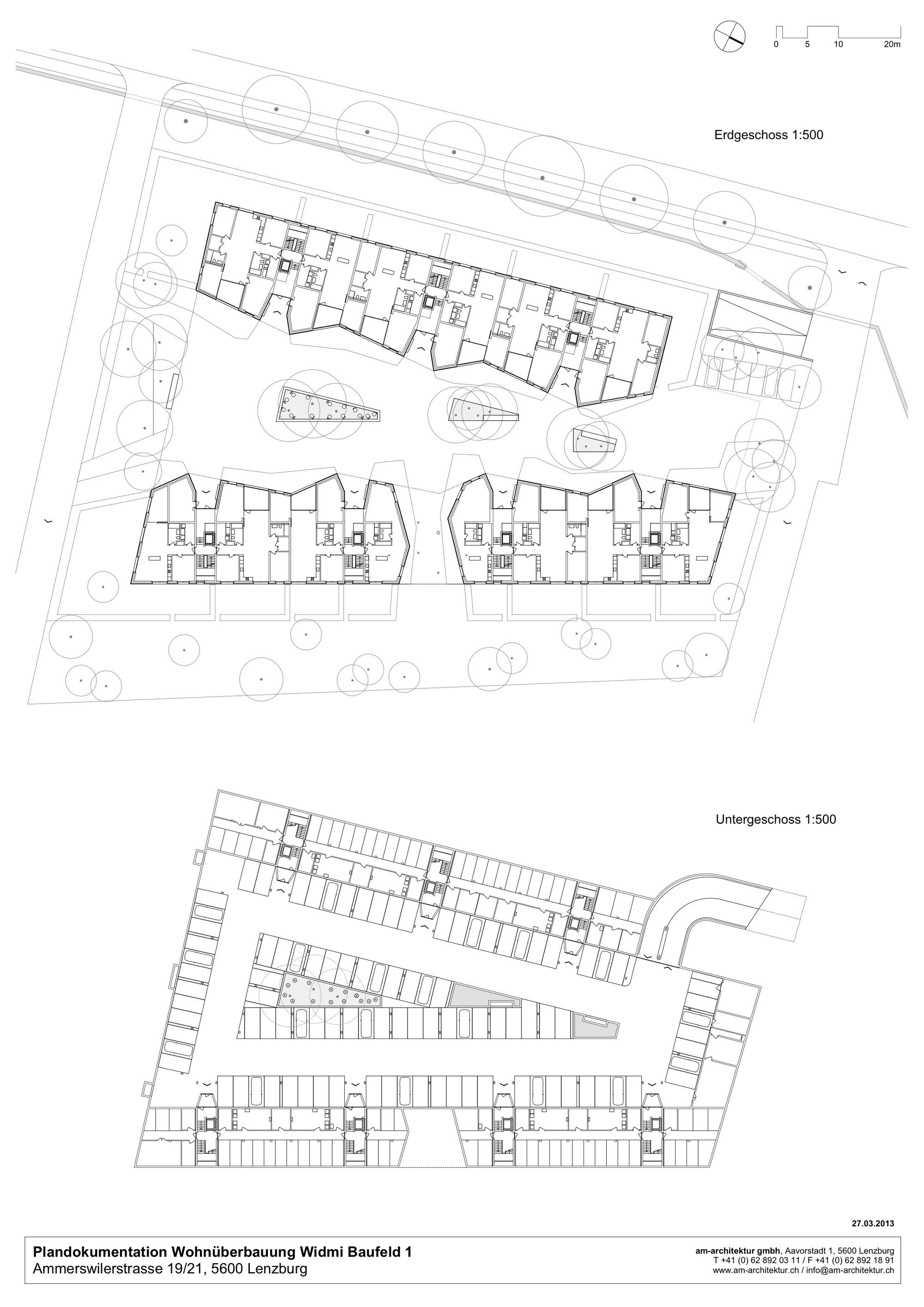Gallery of widmi building am architektur 11 - Architektur plan ...