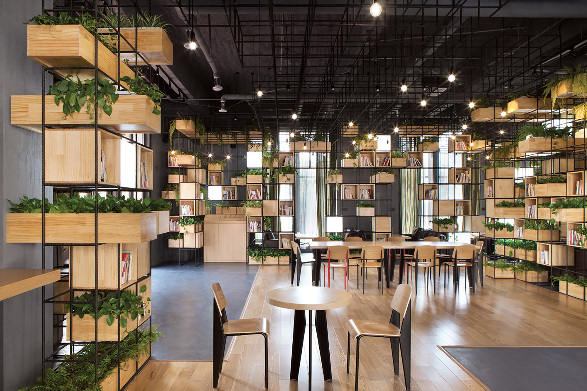 home cafes / penda | archdaily