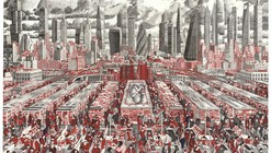 """Artist Mark Lascelles Thornton On His Completed Masterwork: """"The Happiness Machine"""""""