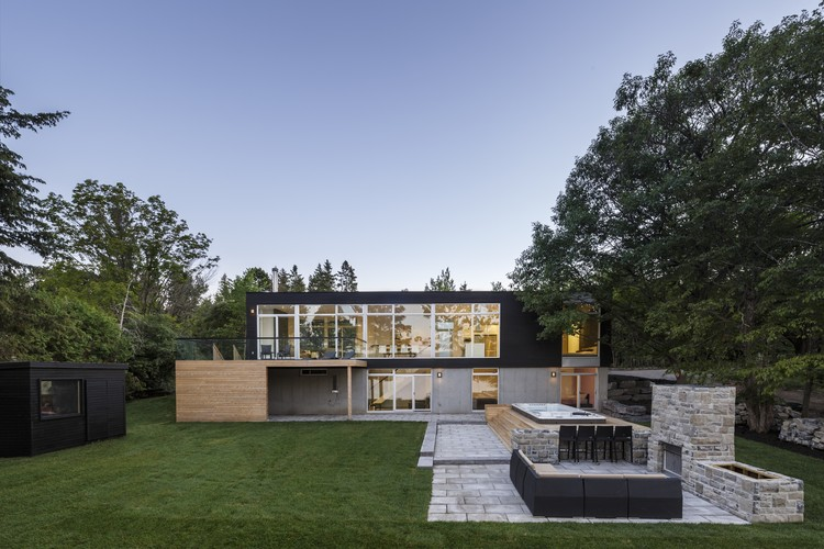 Dunrobin Shores / Christopher Simmonds Architect, © Doublespace Photography