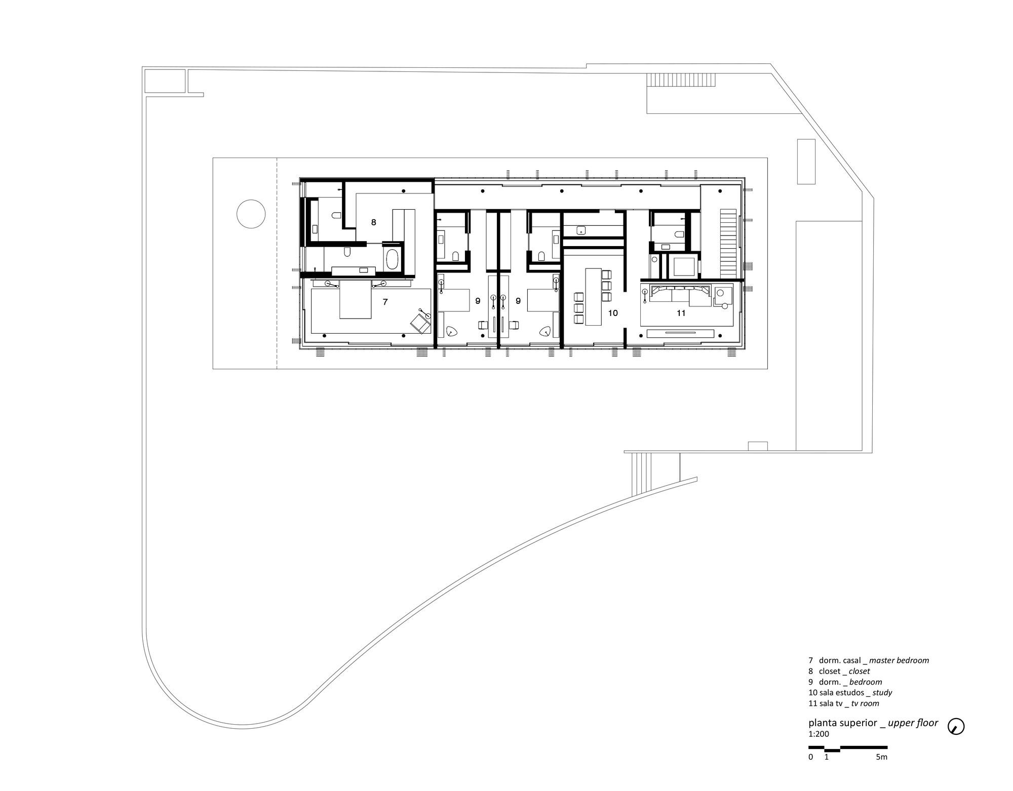 Gallery of toblerone house studio mk27 marcio kogan for Marcio kogan plans