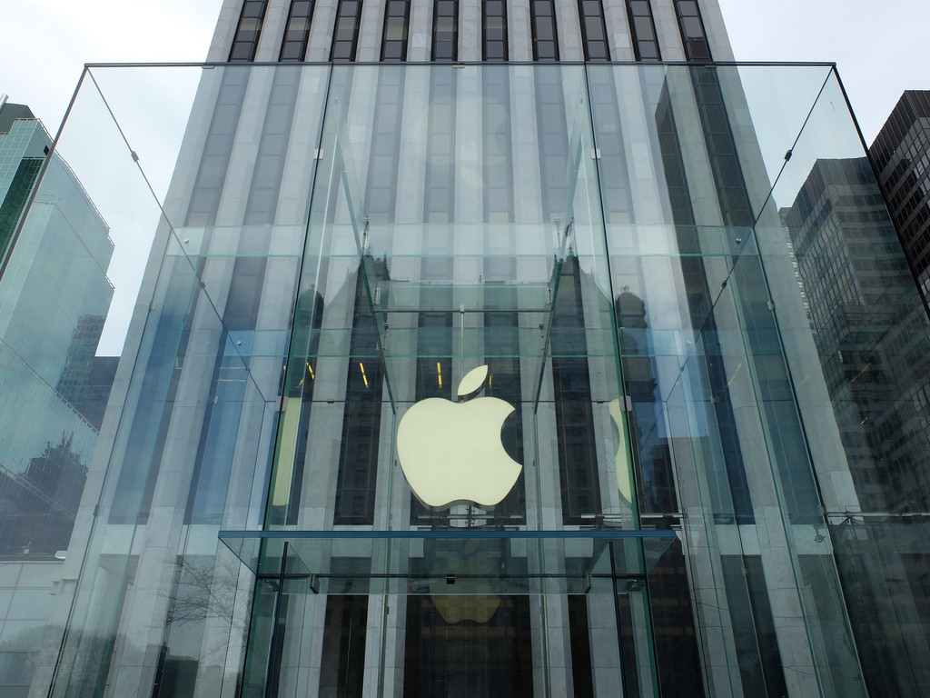Apple Awarded Patent for Flagship Store Design, © Flickr CC User Mathieu Thouvenin