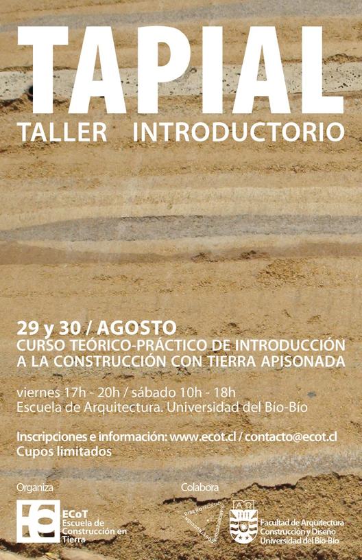 Tapial: Taller Introductorio en Concepción, Chile