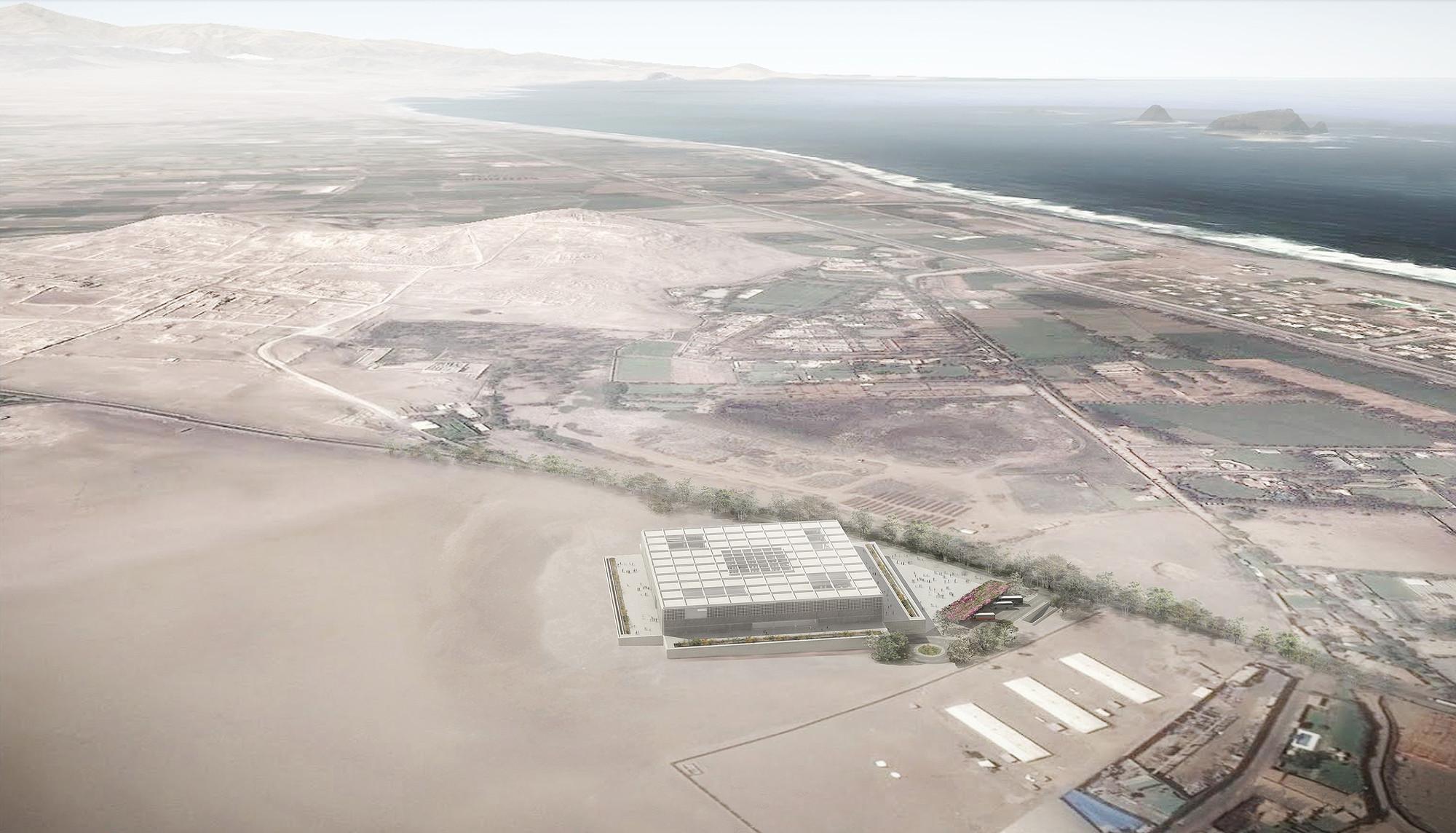 Vista aérea. Image Courtesy of Alexia León Angell