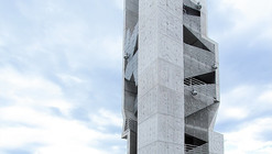 Textured Tower / Coll-Barreu Arquitectos