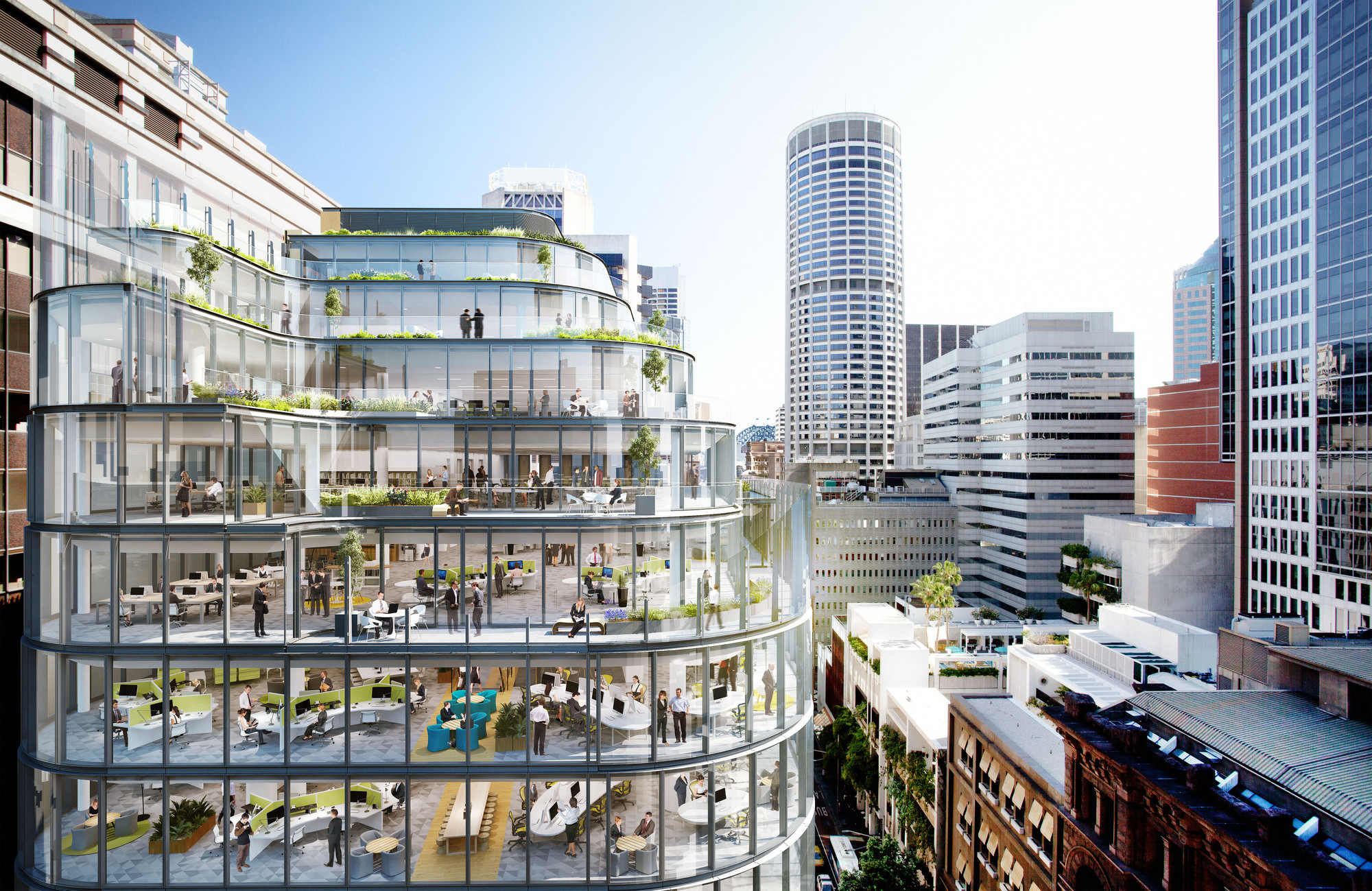 Gallery Of Grimshaw Unveils Sustainable Glass Office