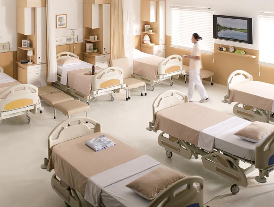 Habitación de Pacientes / SOS/Fursys