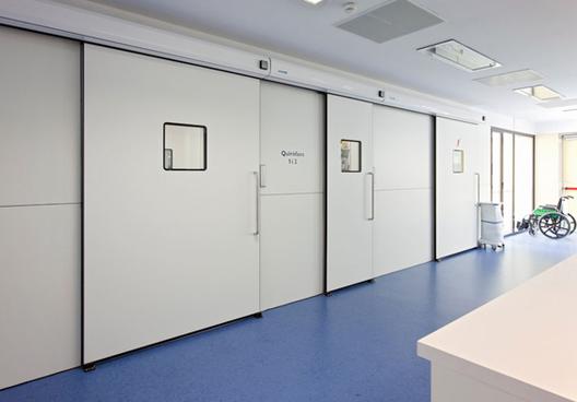 Automatismo Puertas Hospital / Glasstech