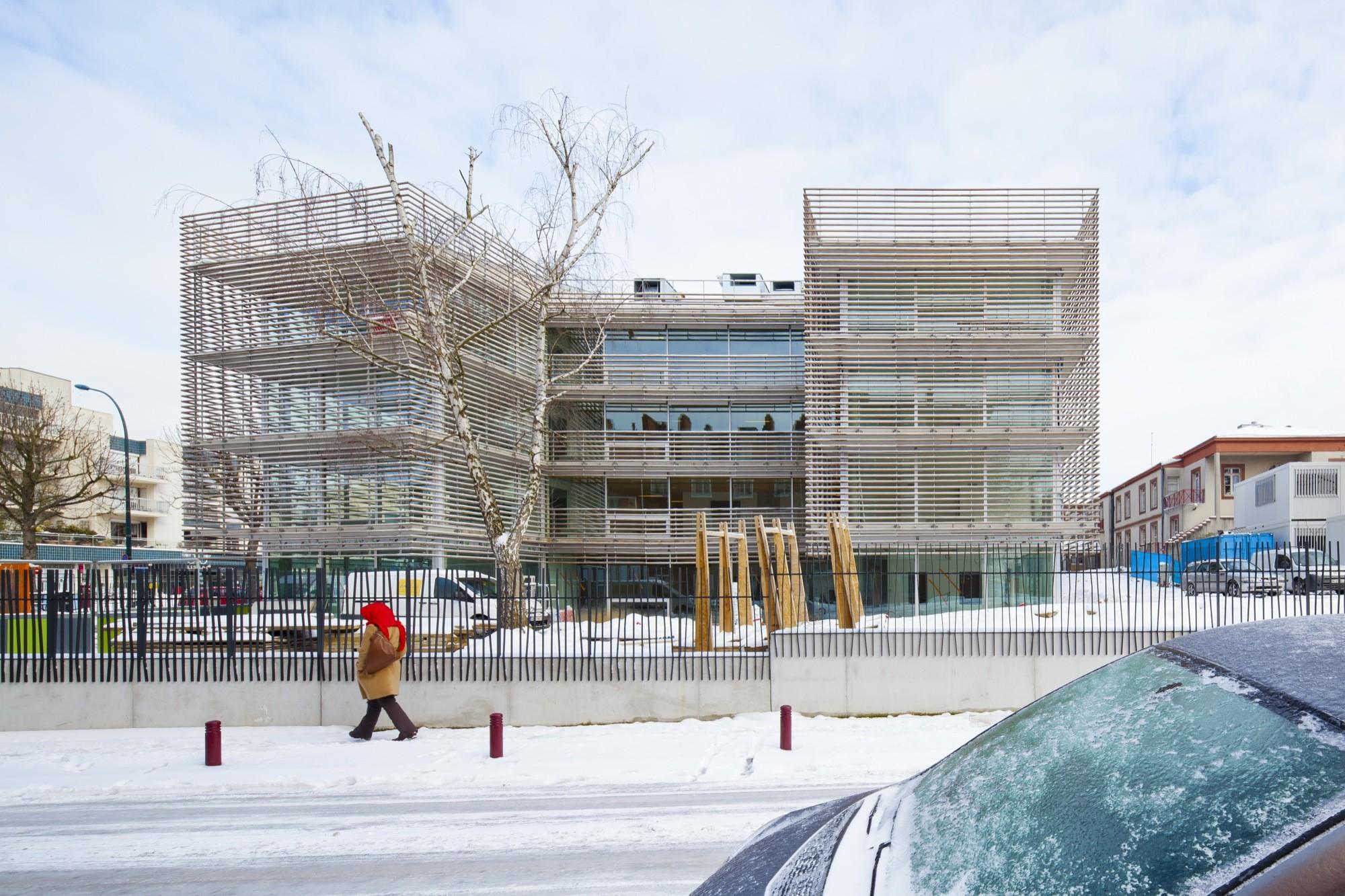 Gallery of maison de retraite philippe dubus architecte 15 for Architecture maison de retraite
