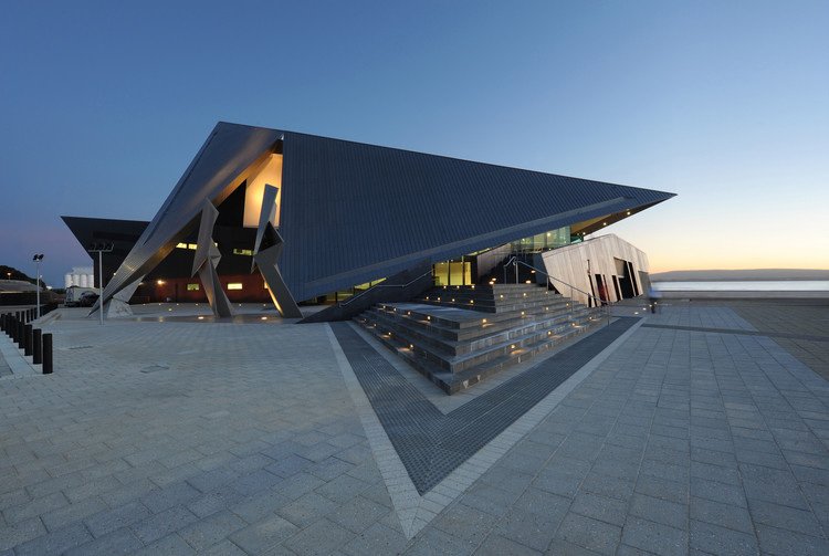 Centro de entretenimiento de Albany / Cox Howlett & Bailey Woodland + Roberts Gardiner, © Alison Paine