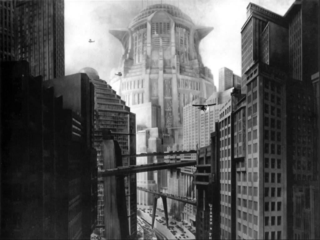 """Escena de la Película """"Metropolis"""""""