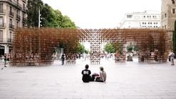 BCN Re.Set - Identity Pavilion / Urbanus